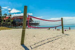 badeurlaub strand cervia - animation beachvolleyball