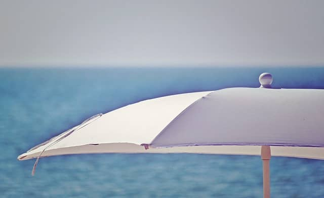 badeurlaub milano marittima - sonnenschirm