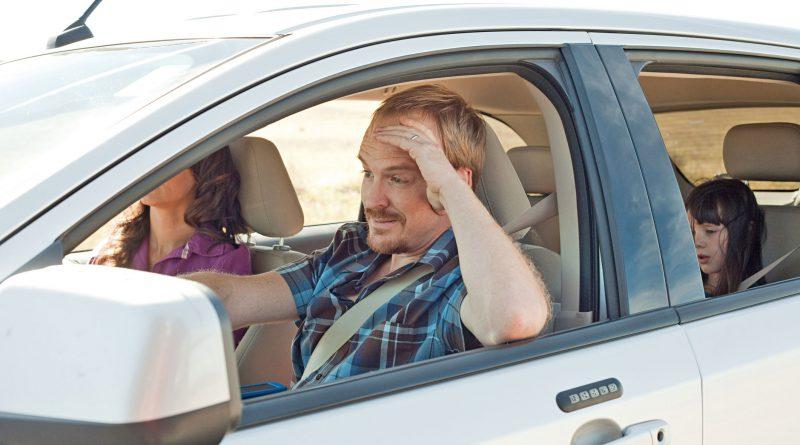 autofahrt in den urlaub