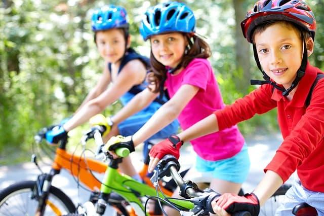 gesunde kinder bewegung fahrradfahren