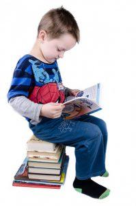 Schulbücher im Schulranzen