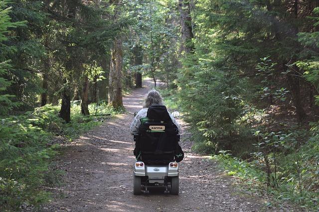 Elektromobil für senioren und behinderte